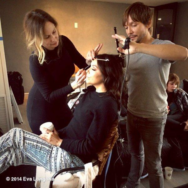 Eva Longoria . Décembre 2014 (2)