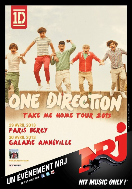 """Date du """"Take Me Home Tour 2013"""""""