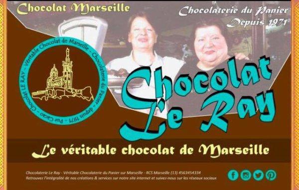 Michèle Le Ray chocolatière au panier depuis 1971