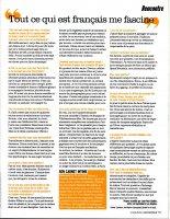 Blake est en couverture du magazine Femina du mois d'aout 2011 .