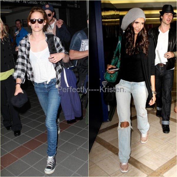 Votez pour la Vampire que vous trouvez la mieux habillée ! : )   Kristen Stewart vs. Nina Dobrev & d'Autres..!