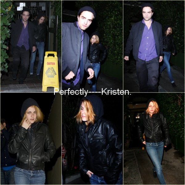 O4/1O/1O. Rob & Kristen à Los Angeles.