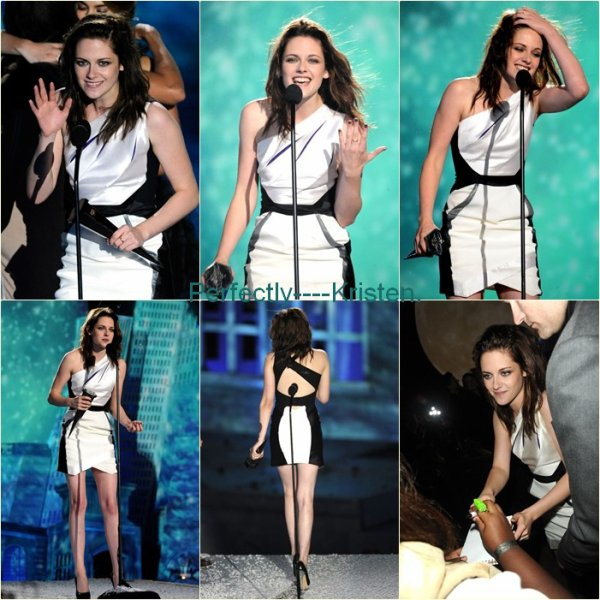 "Le 16.1O.1O  |  Kristen au ""Scream Awards""."