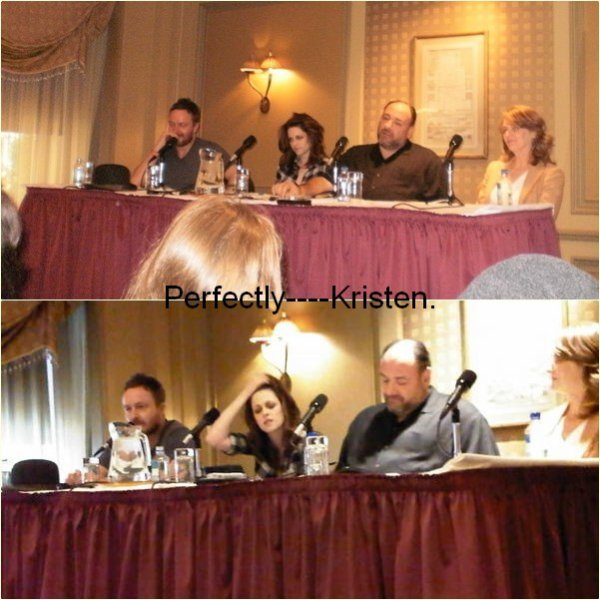 "18.1O  |  Press Conference de ""Welcome to the Rileys"" à New York."