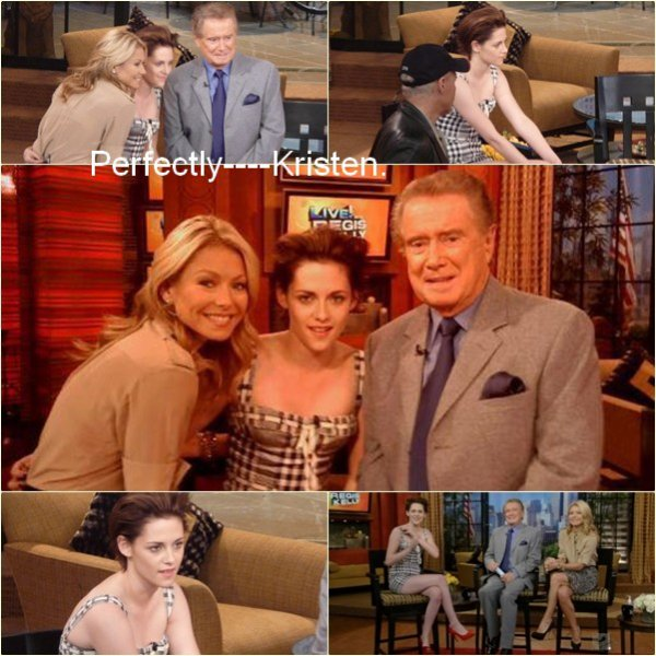 "19.1O  |  Participation de Kristen à l'émission ""The Regis & Kelly Sow."""