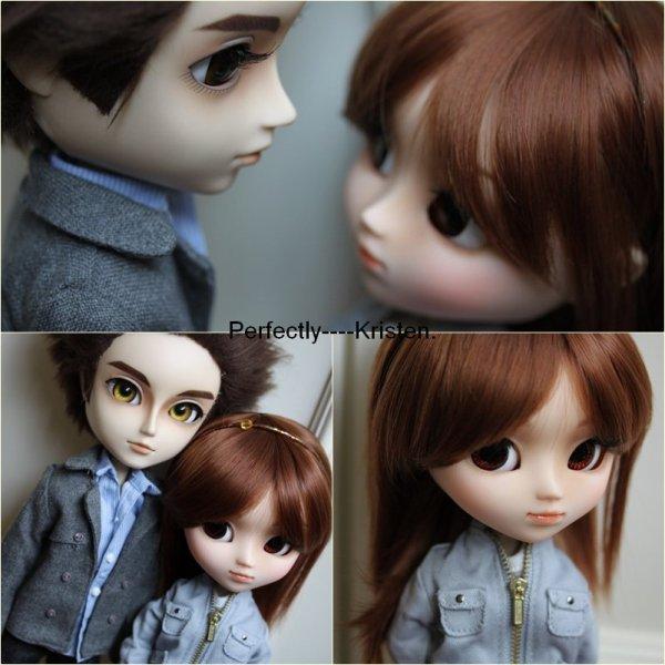 Dolls de Edward & Bella . Toutes choux ; Je retombe dans l'enfance. haha♥