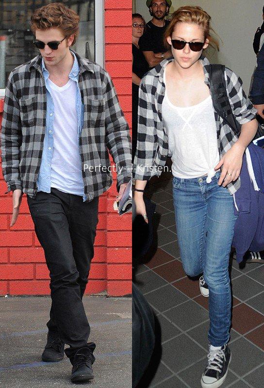 Rob/Kris style.