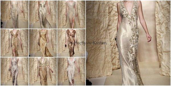 Kristen risque de porter une de ces robes de la marque DKNY lors des Teen Choice Awards qui aura lieu le le 5 janvier 2011.