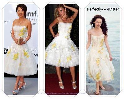 Qui porte cette robe de Roberto Cavalli le mieux?
