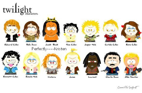 Twilight Characters dans South Park .