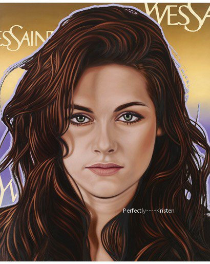 Version 'POP ART' de Kristen. By Richard Phillips.