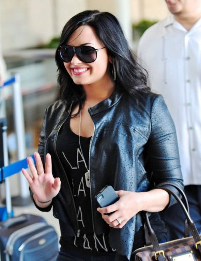 Demi le 23 avril à l'aeroport de Chicago