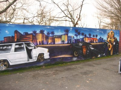 fresque dogystyle