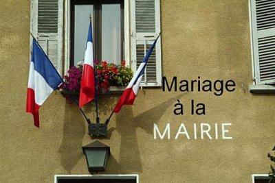 mariage a la mairie