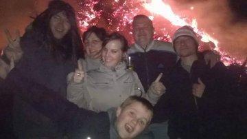 Grand feu 2015 Han-sur-Lesse