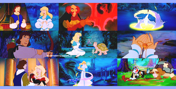 The Swan princess.