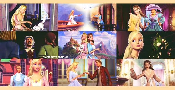 36    barbie coeur de princesse