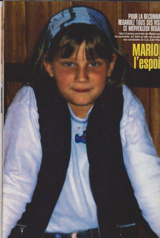 MARION WAGON DISPARUE LE 14 NOVEMBRE 1996