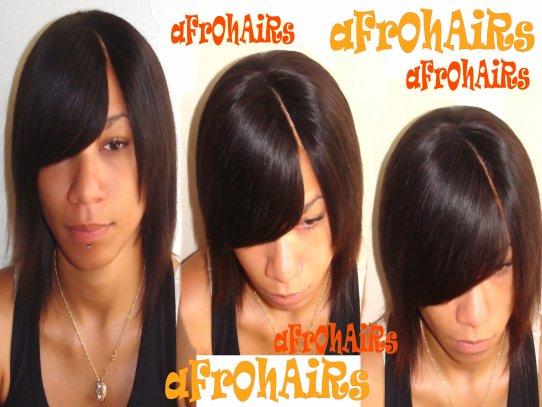 Coupe de cheveux en tissage