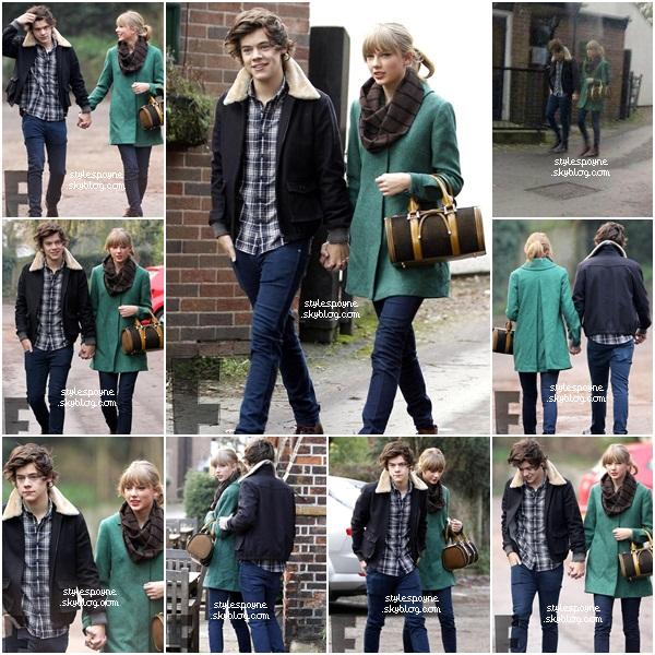Quand Niall dit On va voir Taylor Swift, et que Louis fais à Harry  Taylor Swift.
