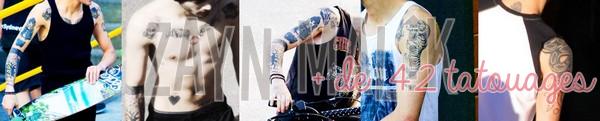 Article spécial fin d'année - Ça a fait parler cette année (encore) : Les garçons et les tatouages !