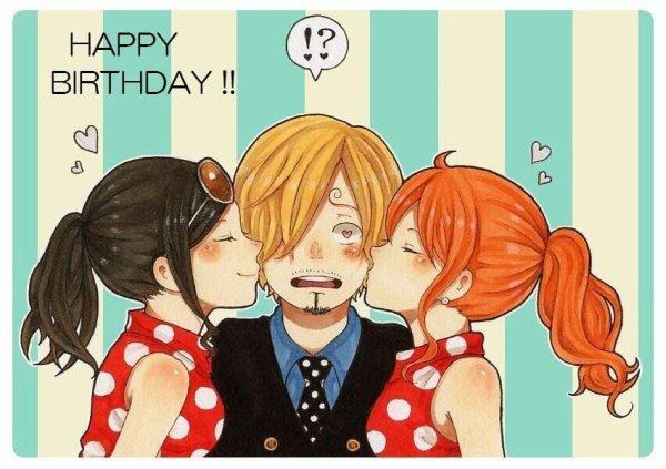 C'est l'anniversaire de Sanji Vinsmoke de One Piece !!!