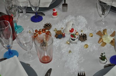 deco de table de noel 2011 suite