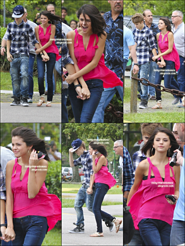 . Selena et Justin ont récemment pris un hélicoptère pour une virée à Rio de Janeiro, le 04 octobre. .