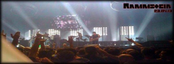Concert de Rammstein - Montpellier 2013