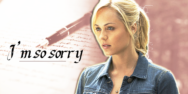 Prologue : I'm so sorry