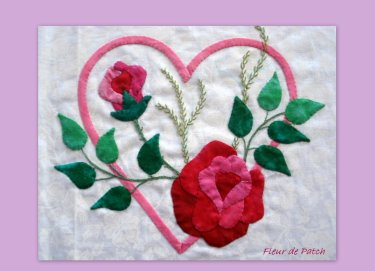 Patchwork - les coeurs  2