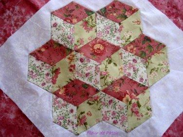 Patchwork - sampler 4 - les cubes