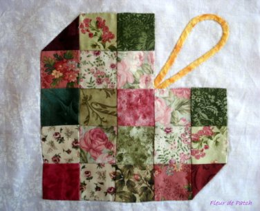 Patchwork - sampler 7 - Un coeur