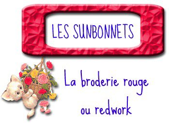 BRODERIE - SAL 4 sunbonnet 2
