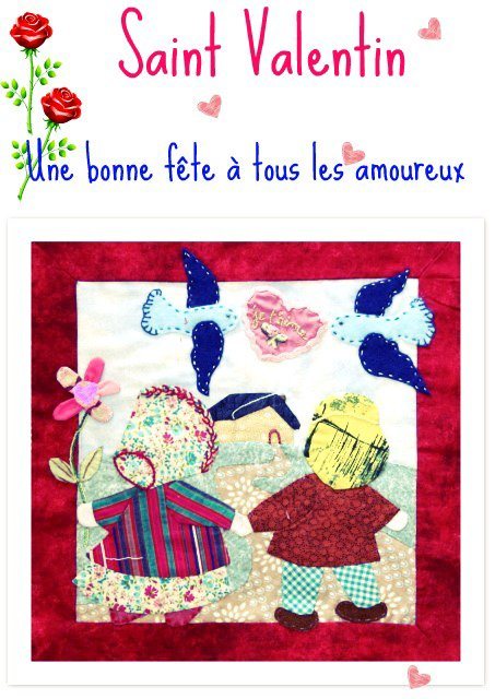 APPLIQUE - St Valentin