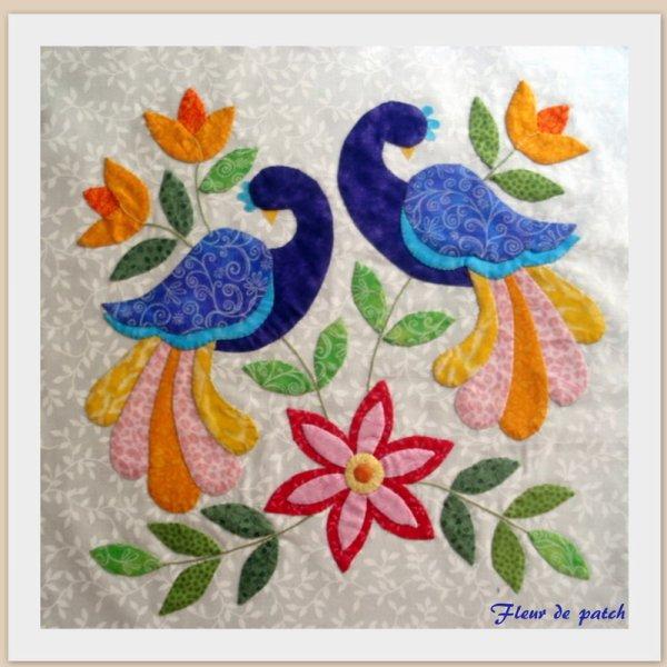 APPLIQUE - les oiseaux 1