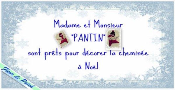 PANTINS DE NOEL
