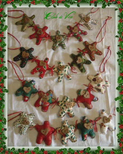 Gingerbread, guirlandes parfumées