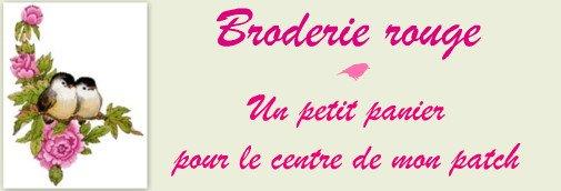 BRODERIE - panier