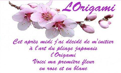ORIGAMI - pliage japonais