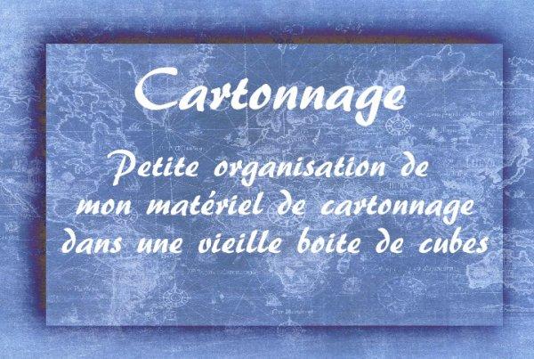 Cartonnage - outillage