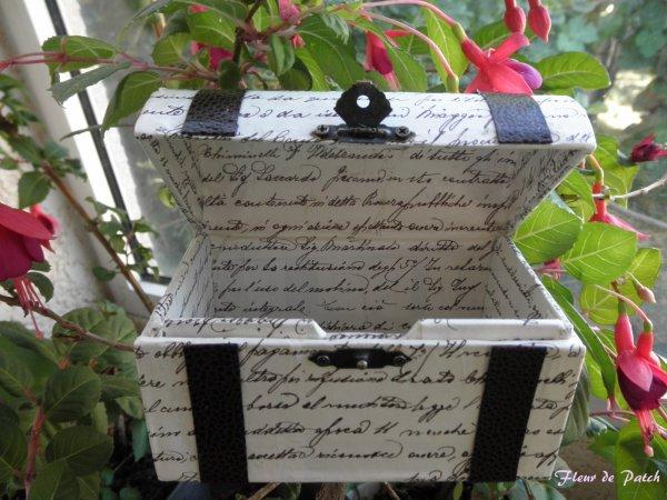 Cartonnage - coffret à bijoux