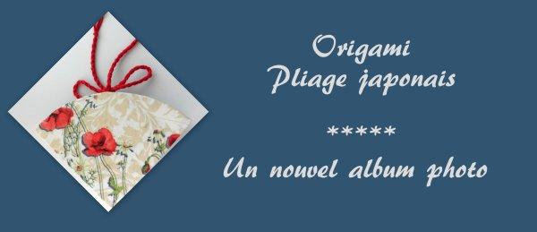 ORIGAMI - ALBUM PHOTO