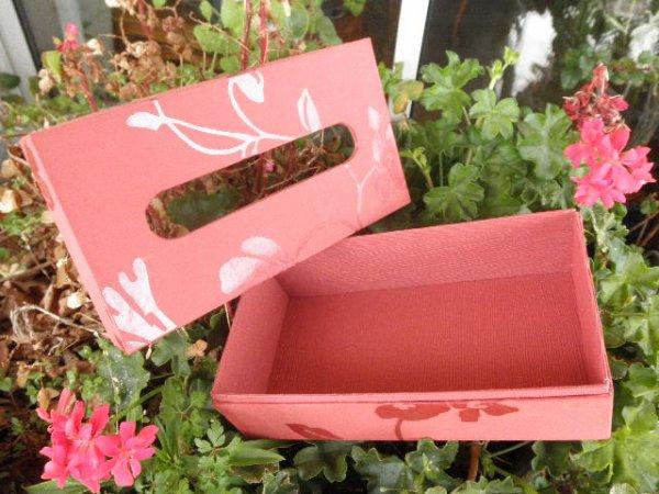 Cartonnage - Boite à Kleenex