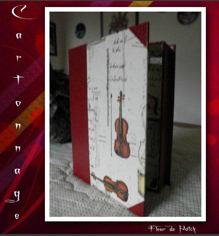 Cartonnage - Boite Livre