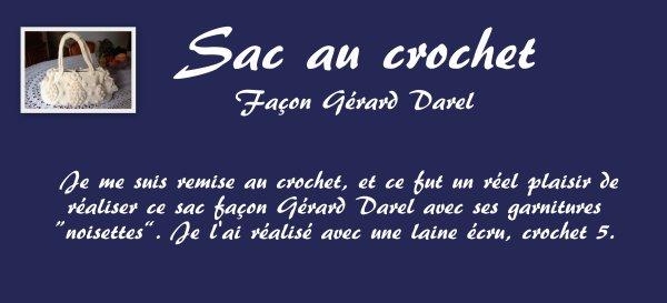 CROCHET - Sac façon Gérard Darel