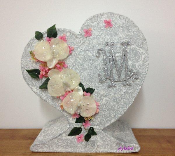 Cartonnage - Urne de mariage
