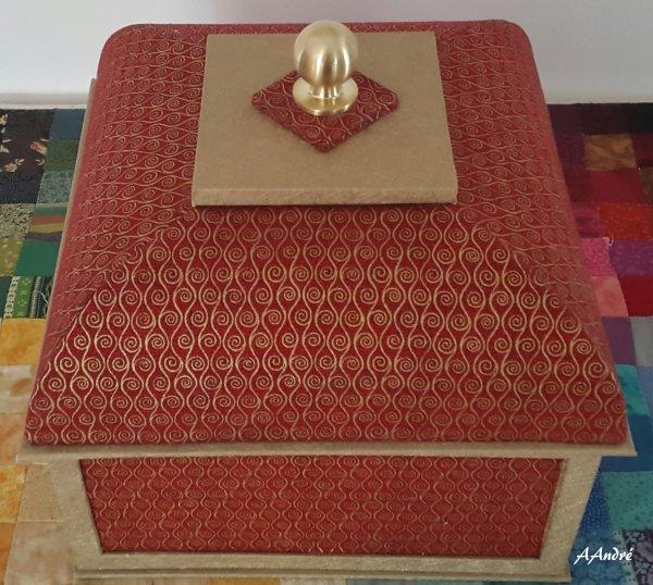 Cartonnage - la boite mansard