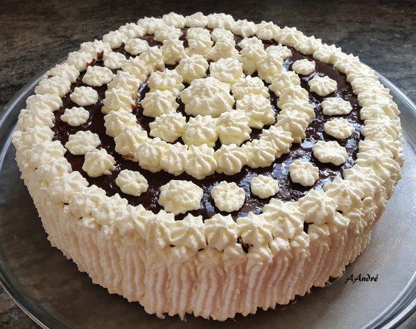 Pâtisserie - Gâteau a la mousse de Nutella