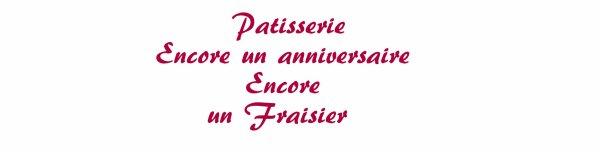 Patisserie - Fraisier